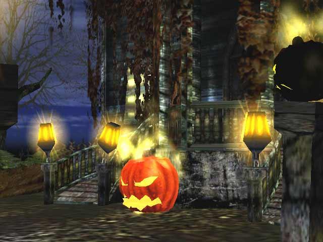halloween screensaver with sound