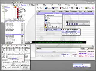 CD Ripper, mp3 organizer , Karaoke MP3 player and ID3 tag editor