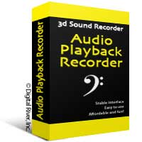 enables to record sound, played back through your sound card, microphone and lin